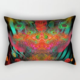 Atomic Psychedelia Rectangular Pillow