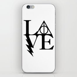 HP love iPhone Skin