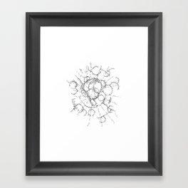 knots Framed Art Print