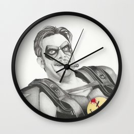 Watchmen The Comedian Wall Clock