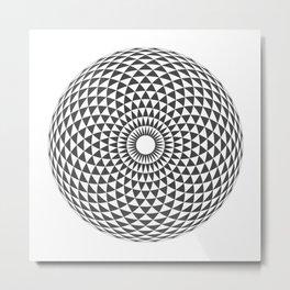 Geometric Eye Metal Print