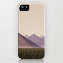 Twin Peaks - James' Valley View iPhone Case