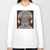 native american Long Sleeve T-shirts featuring Native by PanDuhVka