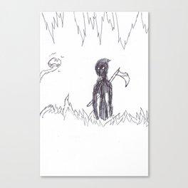 No More Running Canvas Print