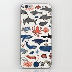 Ocean Animals  iPhone & iPod Skin