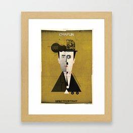 05_directportrait_Charles Chaplin Framed Art Print