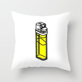 The Best Lighter Throw Pillow