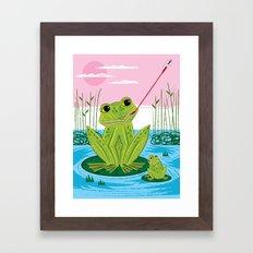 Flycatcher Framed Art Print