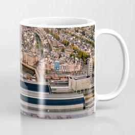 Amsterdam Station from Above Coffee Mug