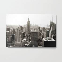 Static Empire Metal Print
