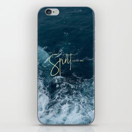 Spirit Lead Me iPhone Skin