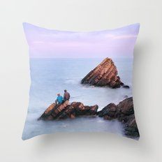 Fishing with Dad Throw Pillow