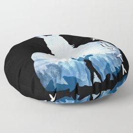 Minimalist Silhouette All Might Floor Pillow