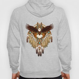Bald Eagle Mandala Hoody