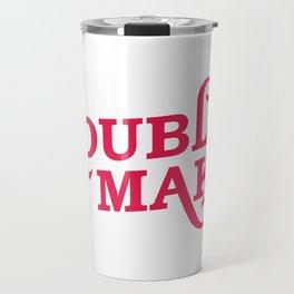 Trouble Maker Funny Mechanic Office Gift Travel Mug