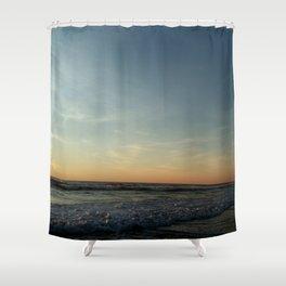 Oceanic landscape: Lacanau  12 Shower Curtain