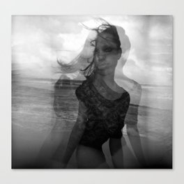Eye Sea Canvas Print
