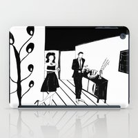 cocktail iPad Cases featuring COCKTAIL by Pelotica Monroe