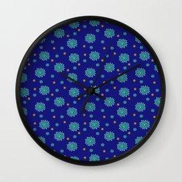 Happy Hippie Revision 4 Wall Clock