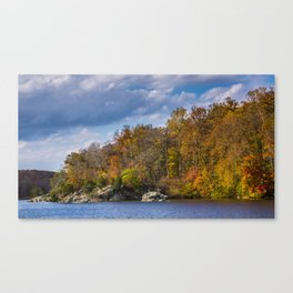 Autumn's Brush Canvas Print