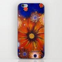 millenium falcon iPhone & iPod Skins featuring Millenium by Louvretta