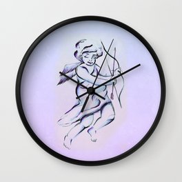 Angel of Love Wall Clock