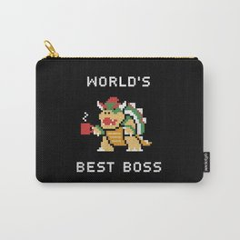 World's Best Boss Carry-All Pouch