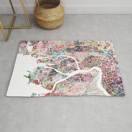Saint Petersburg map Rug