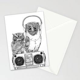 Silent Night ANALOG zine Stationery Cards