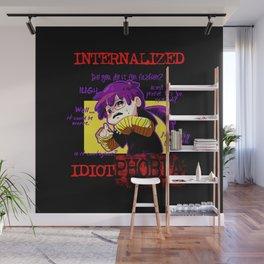 Internalized Idiot Phobia Wall Mural