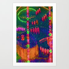 Jewels Art Print