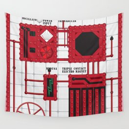 Rocky Horror Control Panel Wall Tapestry