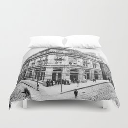 Cotton Exchange New Orleans 1881 Duvet Cover