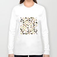 shoes Long Sleeve T-shirts featuring Shoes by Jeanne Bornet