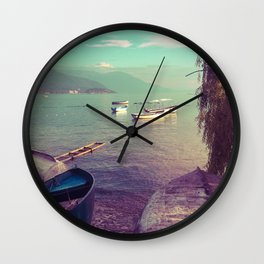 Lake Ohrid, Macedonia Wall Clock