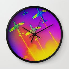 The Roulettes Wall Clock