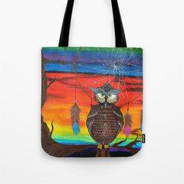 The Ancestor's Owl Tote Bag