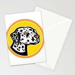 Dalmatian Dog Mascot Stationery Cards