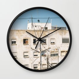 Roof of Valencia Wall Clock