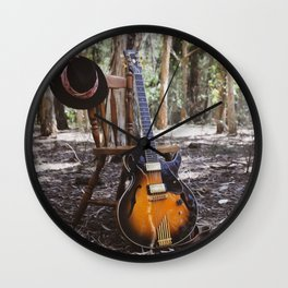 Sounds of Silence  Wall Clock