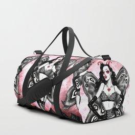 Victoria's Devil Duffle Bag