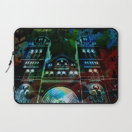 UK, England, London, Natural History Museum, the facade Laptop Sleeve