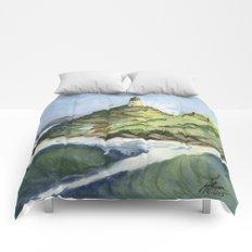 Peaceful Lighthouse V Comforters