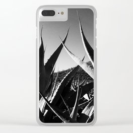 Maguey y Sotol. Clear iPhone Case