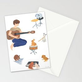 Band member Stationery Cards