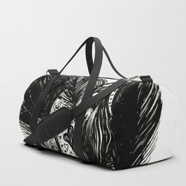 Feathers and Hearts Psalm 91:4 Duffle Bag