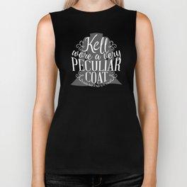 Peculiar (on dark) Biker Tank