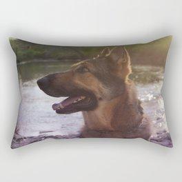 German Shepard - Hiro Rectangular Pillow