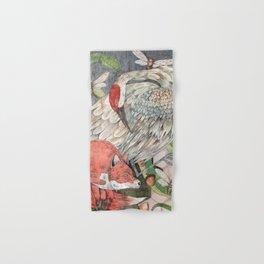Fox and the Crane Hand & Bath Towel