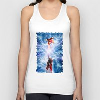wreck it ralph Tank Tops featuring THOR vs RALPH by Raisya